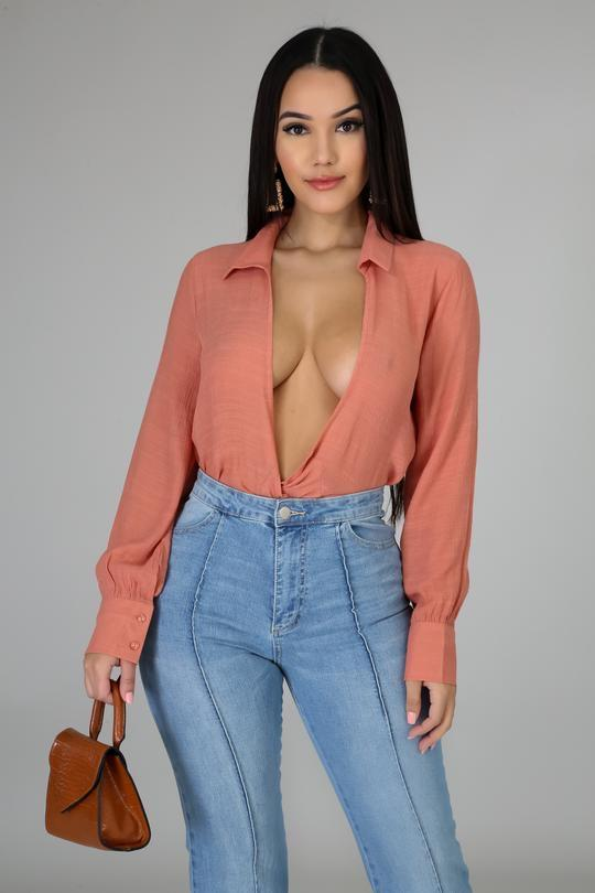 Jane Doe Wrap Blouse