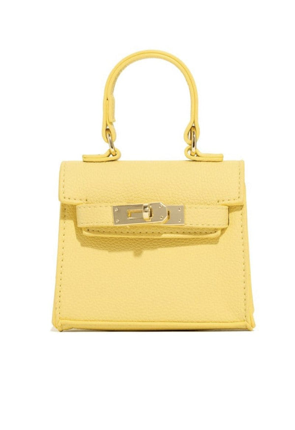 "Bae Pay Mini Bag ""Yellow"""