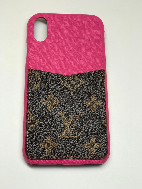 "Luxury LV Pocket Phone Case ""Pink"""