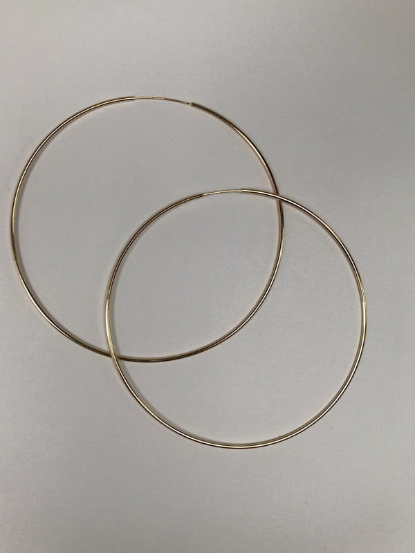 Gold Filled Hoops