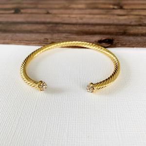 "Cable bracelet ""yellow gold"""