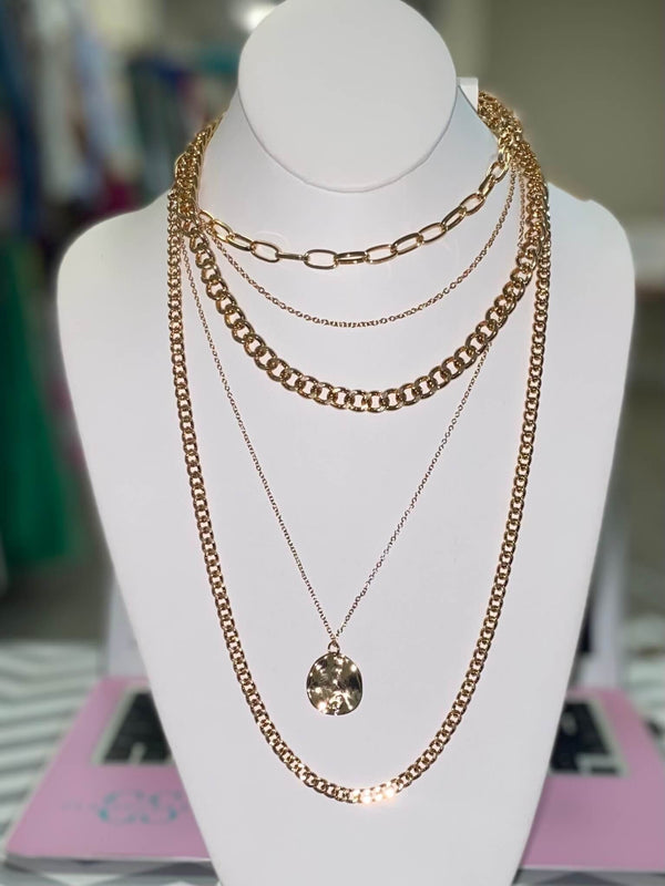 Holy Grail Necklace and Earrings Set 1