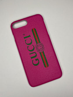 Pink G iPhone Case