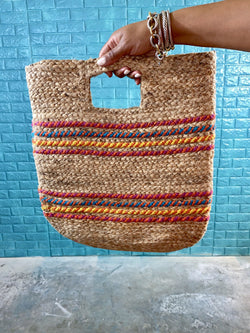 "Handy Straw Bag ""MULTI COLOR"""
