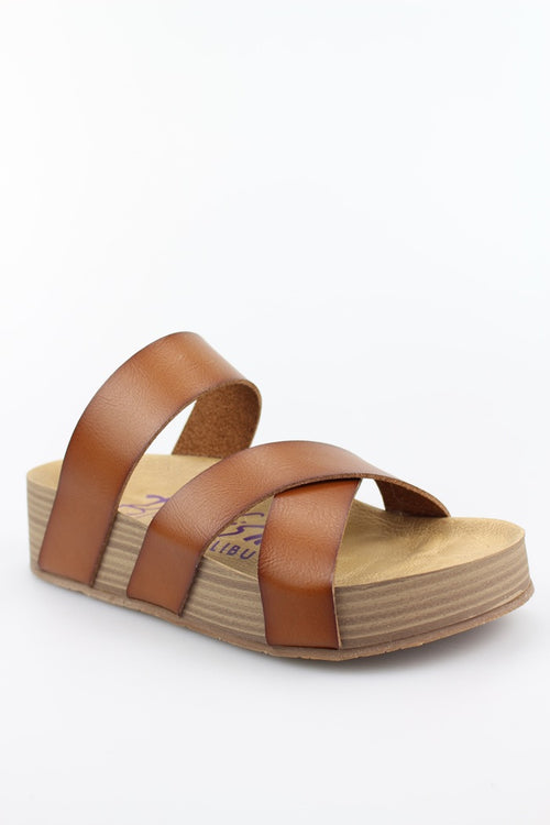 The Miri Vegan Leather Sandal