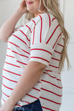 Simply Adorable Striped Top