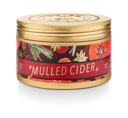 Mulled Cider Tin Candle - Large