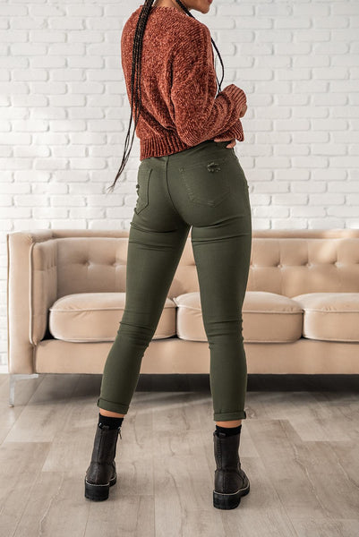 Back For More Colored Relaxed Skinny Jeans