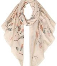 Dream Catcher Scarf - Beige