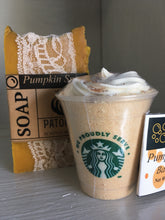 Load image into Gallery viewer, Pumpkin Spice Frappe Bath Bomb SEASONAL