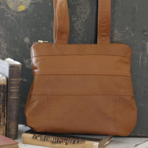 Saddle Up Leather Tote