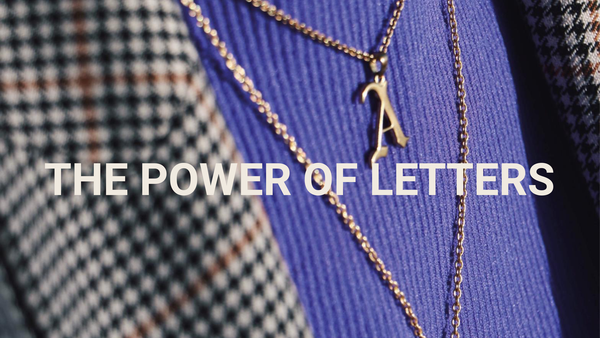 Nieuwe collectie: The Power of Letters