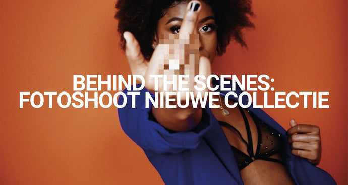 Behind the scenes: fotoshoot nieuwe collectie