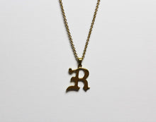 Afbeelding in Gallery-weergave laden, Personal Initial Necklace (925 Sterling Silver or Premium Gold Plating) - Wolff Jewellery