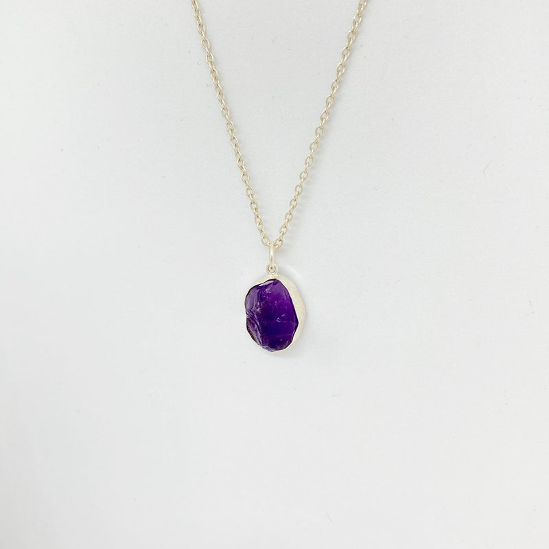 Stone of Protection - Amethyst (Silver) - Wolff Jewellery