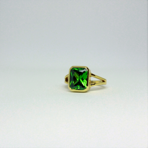 Stone of Energy Ring - Tourmaline (925 Sterling Silver or Gold Plated)