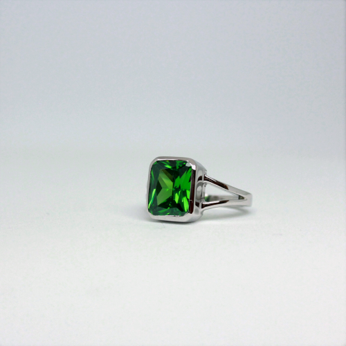 Stone of Energy Ring - Tourmaline (925 Sterling Silver or Gold Plated) - Wolff Jewellery