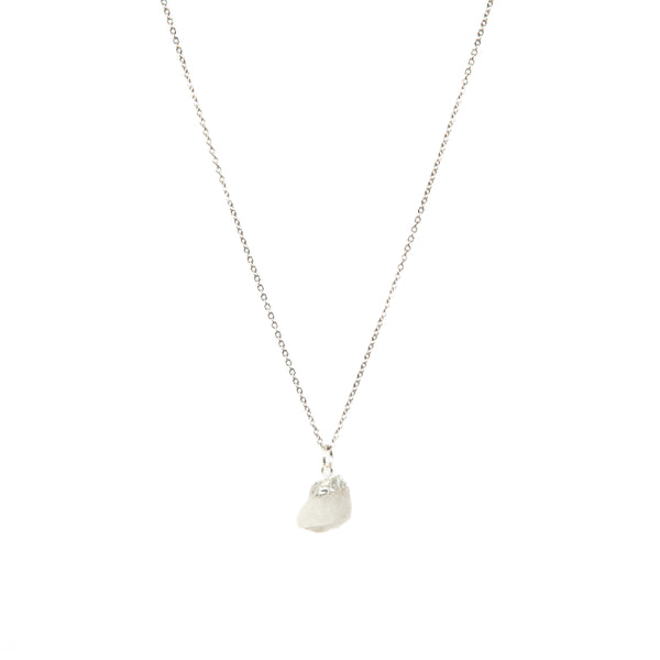 Stone of Intuition Necklace - Moonstone - Small - (Gold Plated or Silver)