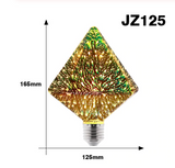 3D LED Christmas Edison Lightbulb