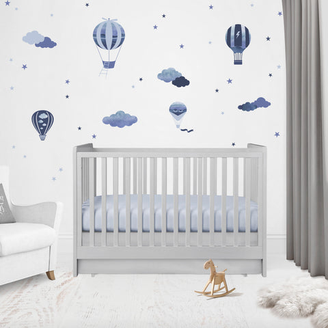 Fly Away With Me Reusable Couture Wall Decals