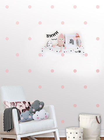 Polka Dot Wall Pattern Decals