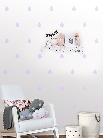 Droplet Wall Pattern Decals