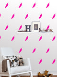 Feather Wall Pattern Decals