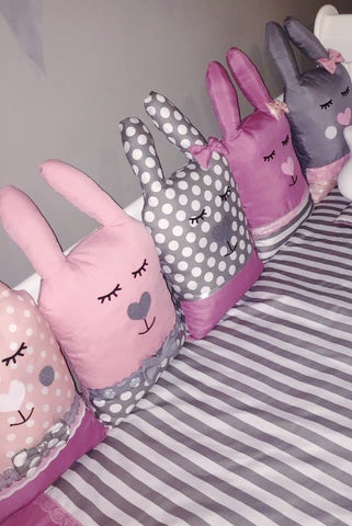 Cuddle Bunny Friends Themed Decor Cushions