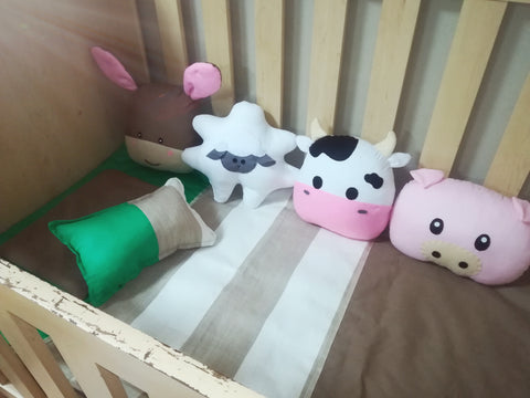Farmyard Friends Themed Decor Cushions