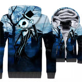 Nightmare Before Christmas Jack Skellington Fleece 3D Hoodie
