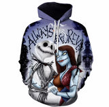 Nightmare Before Christmas 3D Hoodie