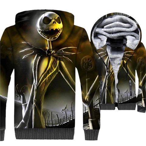 Nightmare Before Christmas Fleece 3D Hoodie
