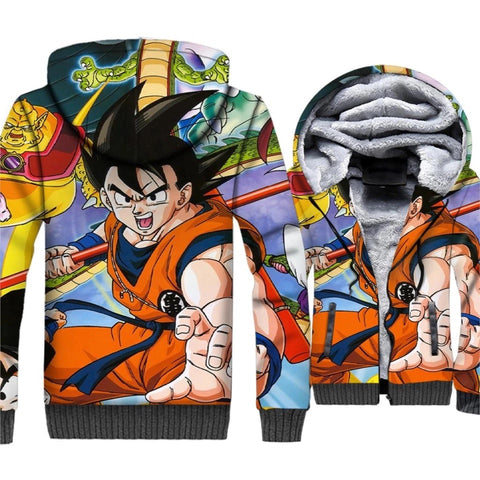Dragon Ball Z Fleece 3D Hoodie