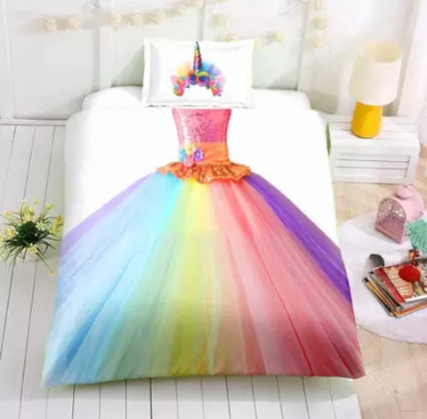 Unicorn Princess Duvet Set