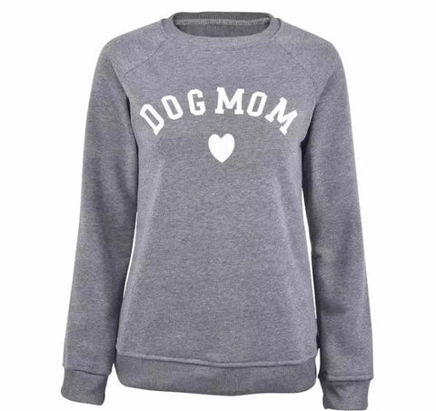 Dog Mom Casual Jumper (3 colour choices)
