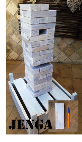 Jenga Wooden Giant Lawn Game