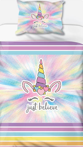 Unicorn Just Believe Duvet Set
