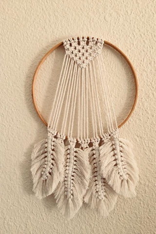 Macrame Feather Dream Catcher
