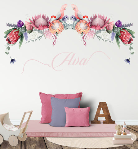 Protea Province Reusable Couture Wall Decals
