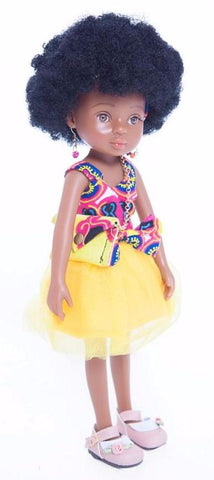 African Queen Mahle Doll