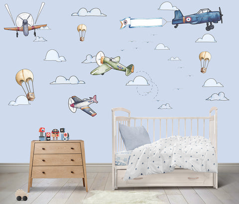 Royal Air Force Reusable Couture Wall Decals