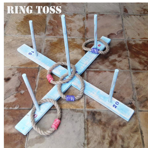 Ring Toss Wooden Giant Lawn Game