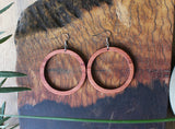 Hoop Wood Earrings