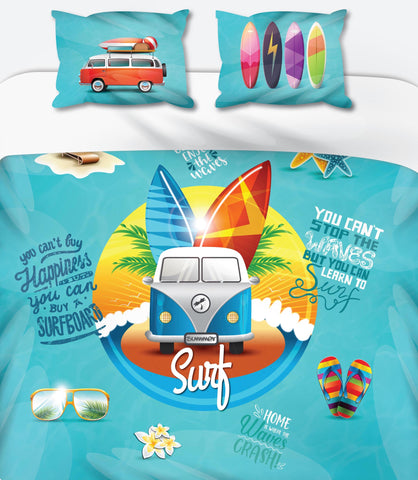 Surf Duvet Set