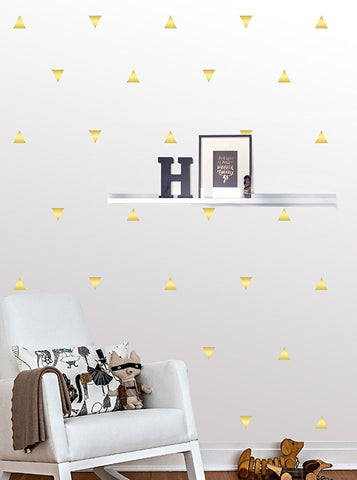 Triangle Wall Pattern Decals