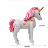 Giant 3D Magical Unicorn Foil Balloon