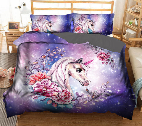 Unicorn Galaxy Duvet Set