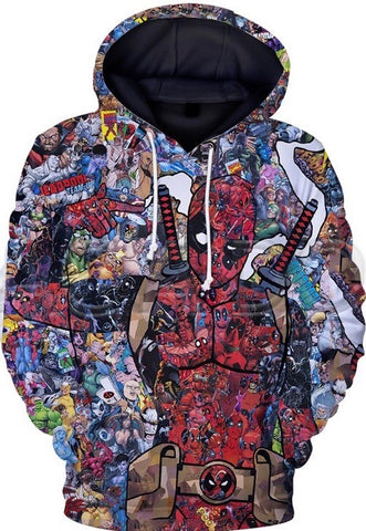 Chronicles of Deadpool Hoodie