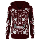 Candy Skull Hoodie (3 colour choices)