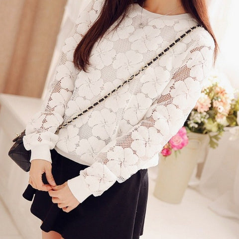 Femmina Lace Jumper